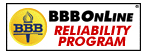BBBOnLine Reliability Program Seal